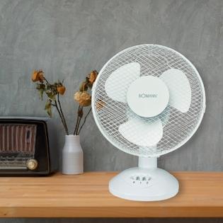 Ventilateur BOMANN 23 cm Blanc