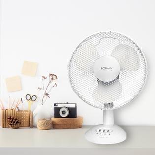 Ventilateur BOMANN 30 cm Blanc