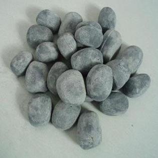 Lot de 12 galets gris en céramique- CHEMIN'ARTE