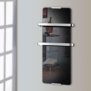 Sèche-serviette design CHEMIN'ARTE Noir 600W