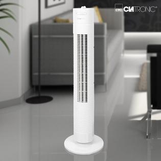 Ventilateur tour CLATRONIC 35W Blanc