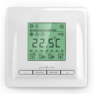 Thermostat programmable - plancher chauffant intérieur - EMATRONIC