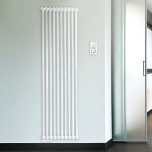 Radiateur à fluide caloporteur LVI Epok Vertical 2 colonnes 1845mm