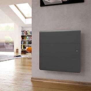 Radiateur fonte Connecté NOIROT Axiom Smart EcoControl Horizontal Gris