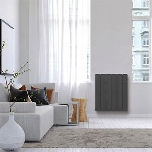 Radiateur fonte Connecté NOIROT Bellagio Smart EcoControl Horizontal Gris