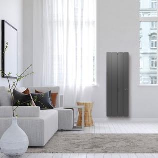 Radiateur fonte Connecté NOIROT Bellagio Smart EcoControl Vertical Gris