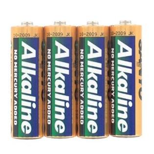 Pack SANYO de 4 Piles Alcalines AA - 1.5 Volts
