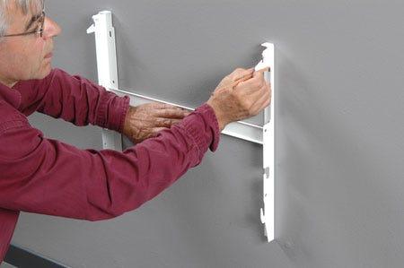 comment installer facilement son radiateur. Black Bedroom Furniture Sets. Home Design Ideas